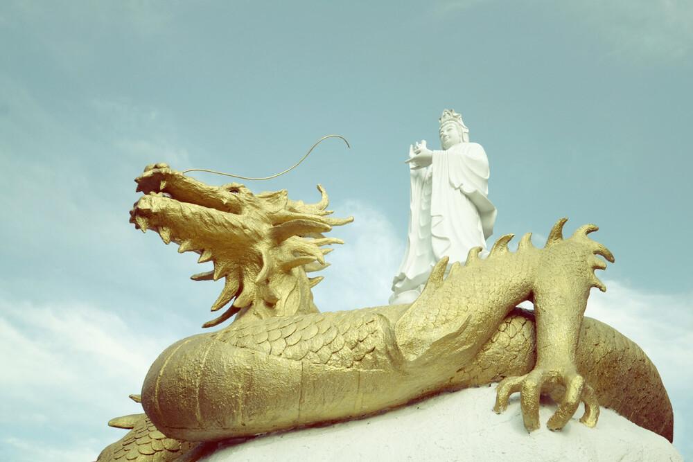 golden dragon - fotokunst von Jochen Fischer