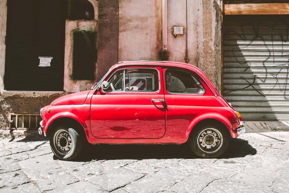Der kleine Rote - fotokunst von Martin Röhr