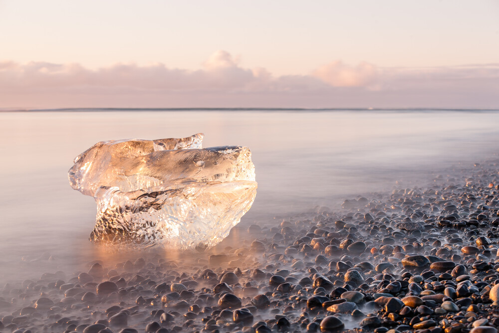Ice & Sea - fotokunst von Cyril Hertz
