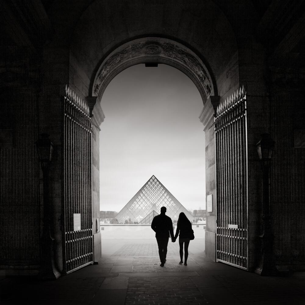La pyramide du Louvre - fotokunst von Ronny Behnert
