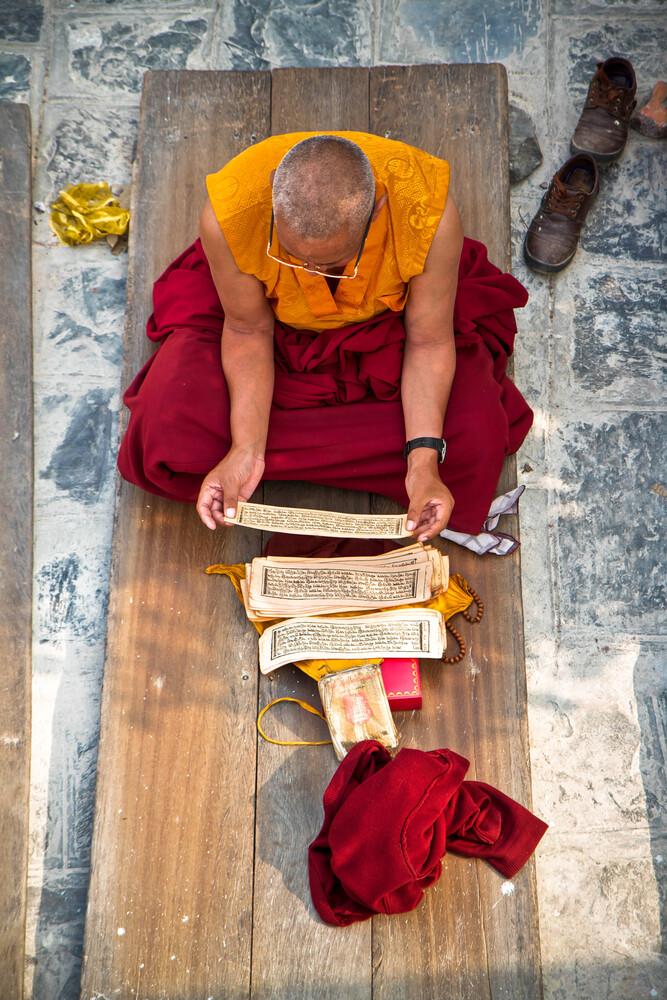 Meditation - fotokunst von Miro May