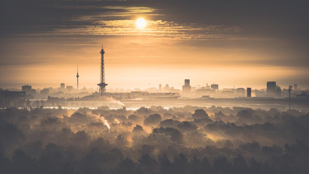 Drachenberg View - fotokunst von Ronny Behnert