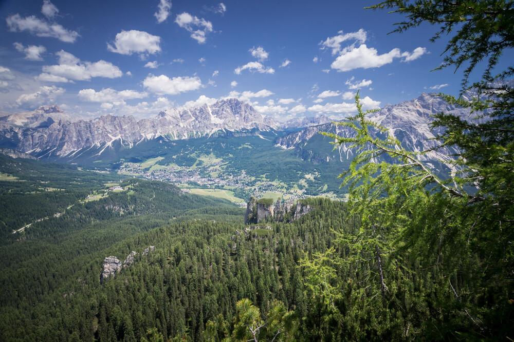 Cortina d'Ampezzo - fotokunst von Markus Van Hauten