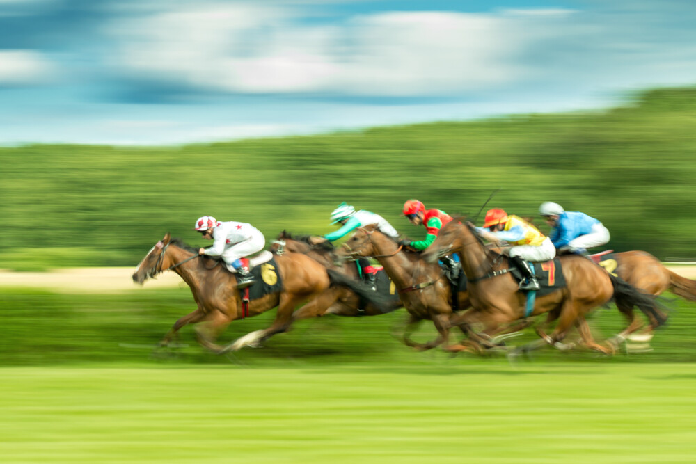 Flying horses - fotokunst von Holger Nimtz