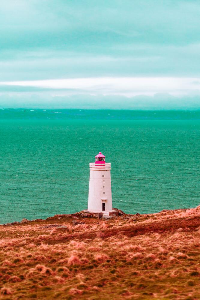 blue sea lighthouse - Fineart photography by Susanne Kreuschmer