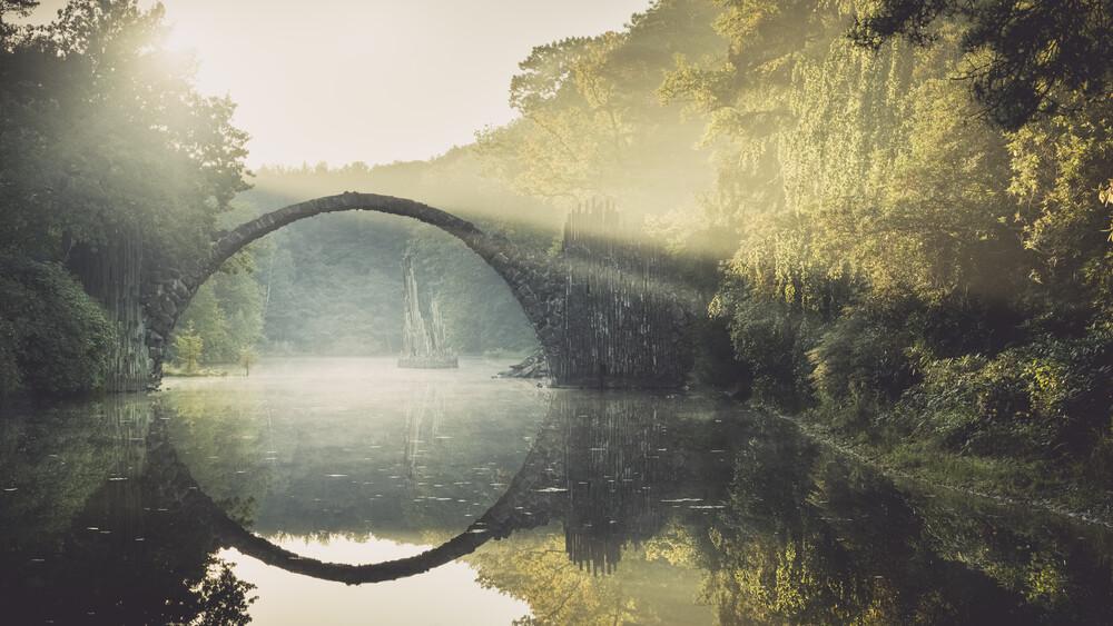 Rakotzbrücke - Study 3 - fotokunst von Ronny Behnert