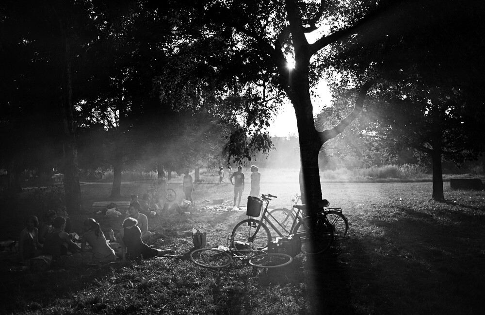Picknick - fotokunst von Joachim Wagner