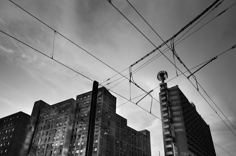 Berlinien - fotokunst von Joachim Wagner