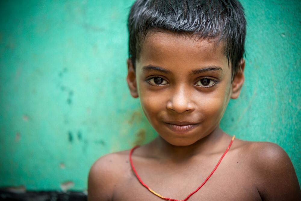 Turquoise Smile - fotokunst von Miro May