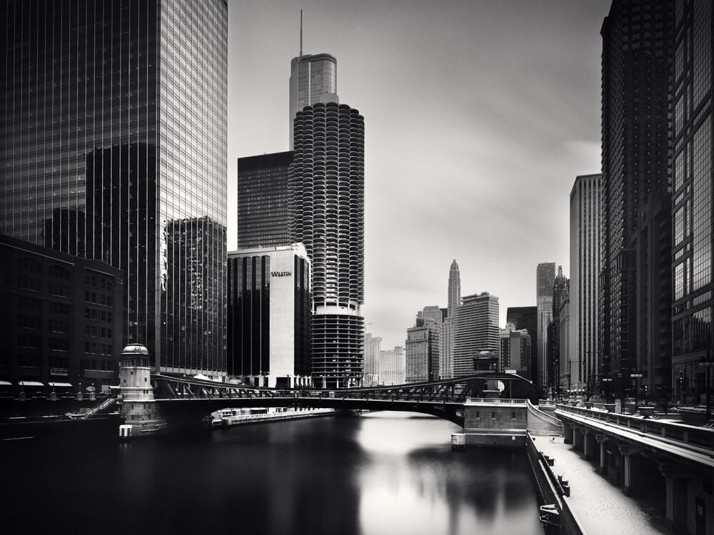 River View - Chicago - fotokunst von Ronny Ritschel