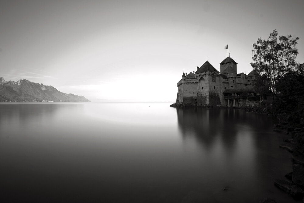 Chateau de Chillon - fotokunst von Raphael Wildhaber