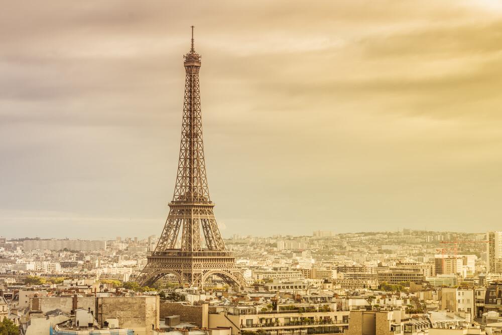Paris Eiffelturm - fotokunst von David Engel
