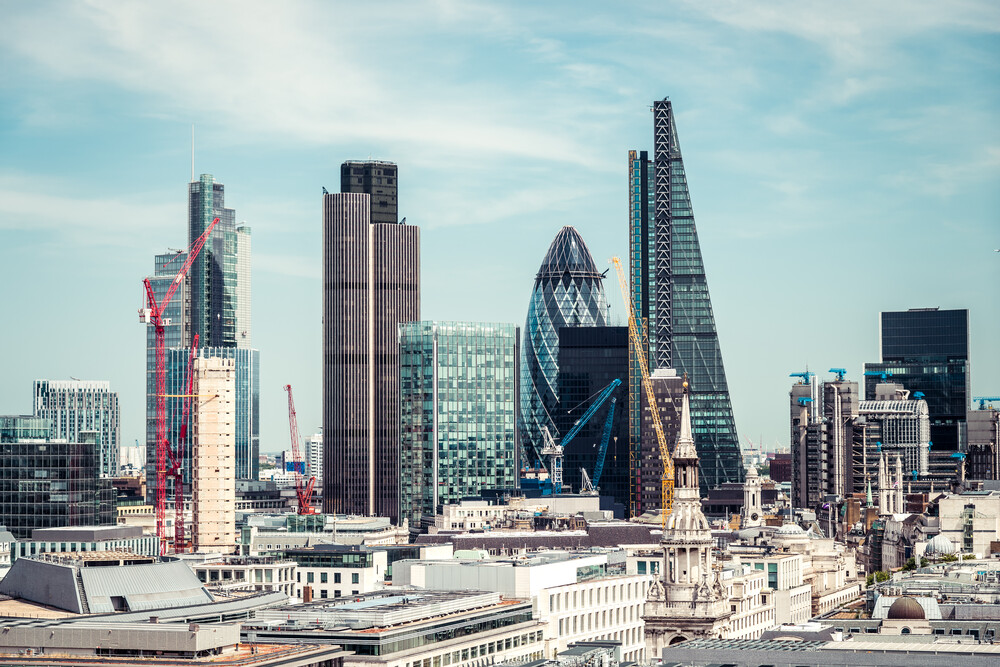 London Skyline - Fineart photography by David Engel