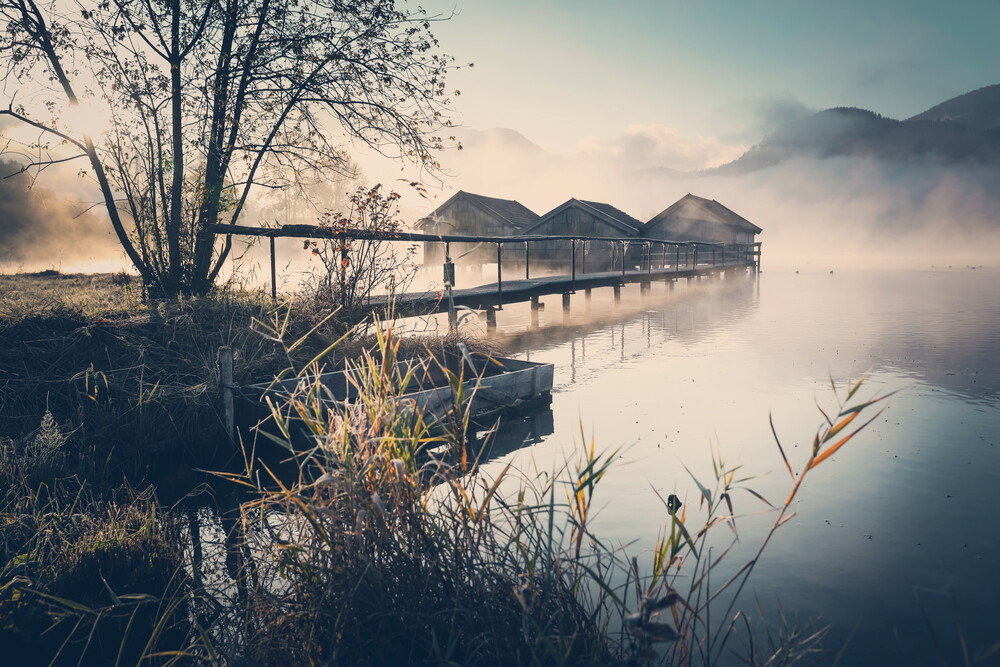 [:] morning haze [:] - fotokunst von Franz Sussbauer