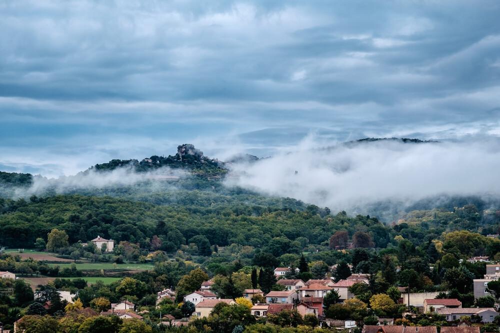 Wolken über deiner Stadt - fotokunst von Andi Weiland