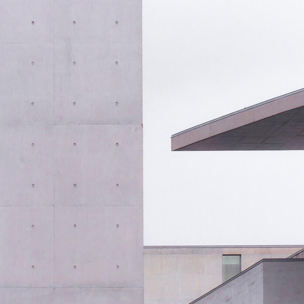 Bundestagsarchitektur - fotokunst von Klaus Lenzen