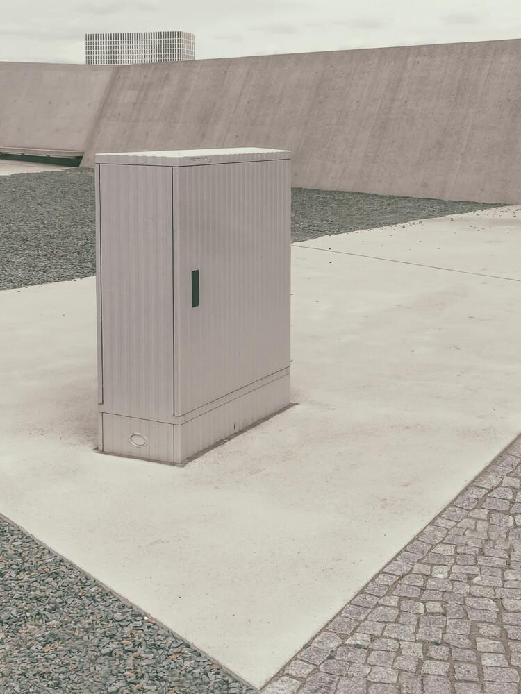 Stromverteiler - fotokunst von Klaus Lenzen