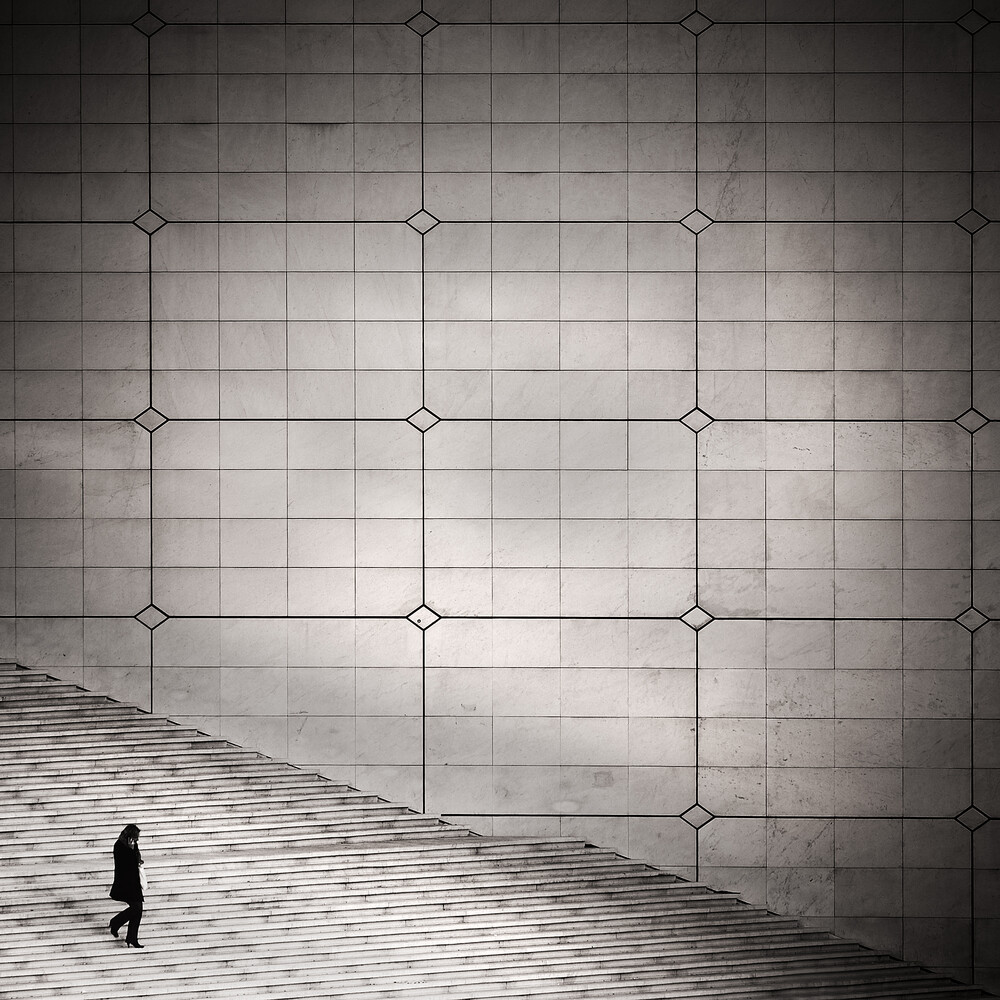 Paris 2012, La Grande Arche - fotokunst von Patrick Opierzynski
