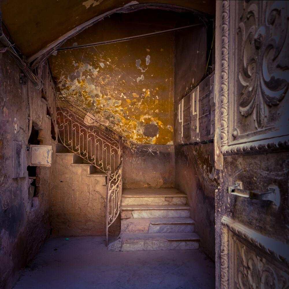 Havana staircase - fotokunst von Eva Stadler
