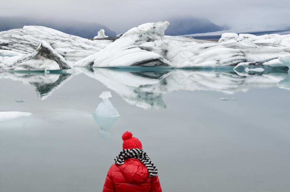 Gletschersee - fotokunst von Daniel Schoenen