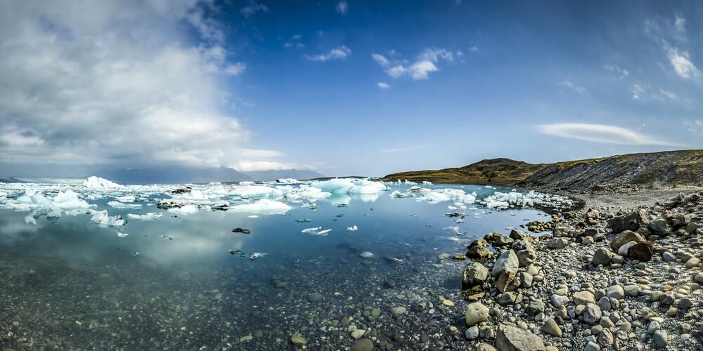 Jökulsárlón, Island - fotokunst von Norbert Gräf