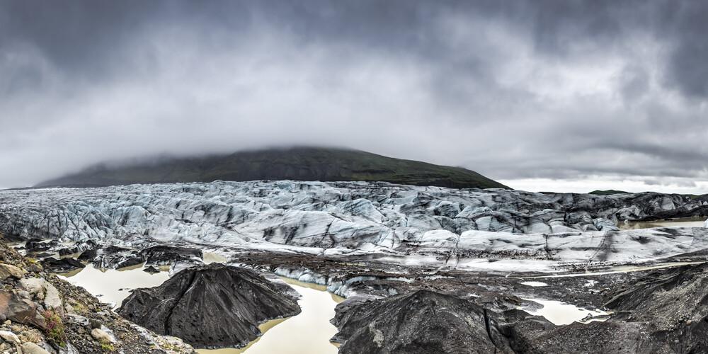 Svinafell, Island - fotokunst von Norbert Gräf