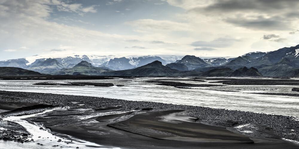 Þórsmörk, Island - fotokunst von Norbert Gräf