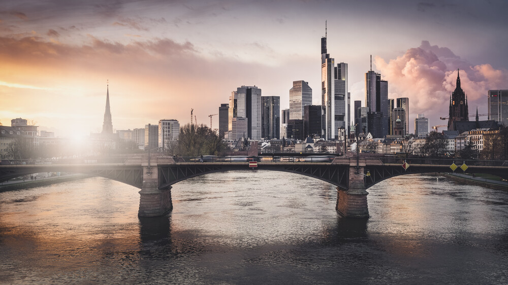 Frankfurt Main Study 2 - fotokunst von Ronny Behnert
