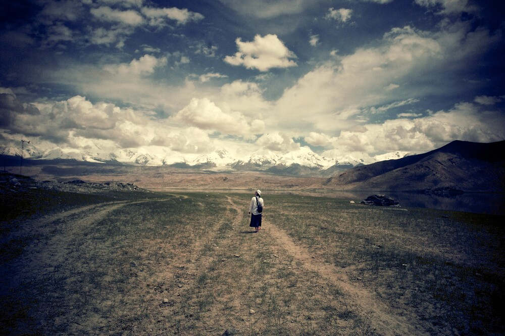 The Mountains of Xinjiang - fotokunst von Brett Elmer