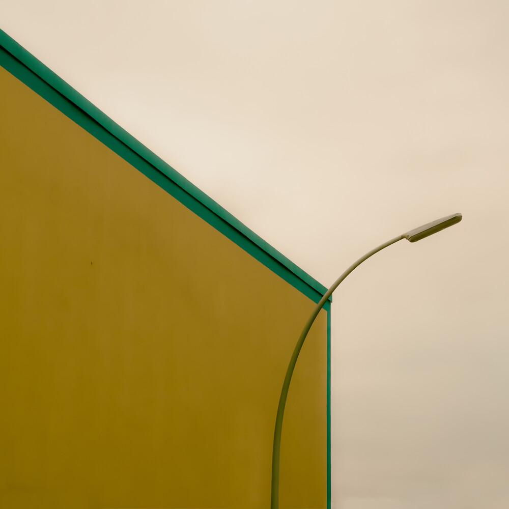 Wandbeleuchtung - fotokunst von Klaus Lenzen