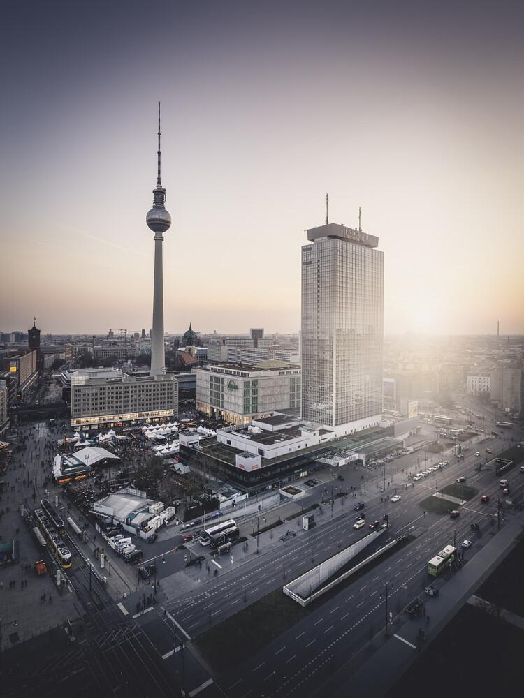 Alexanderplatz Berlin - fotokunst von Ronny Behnert