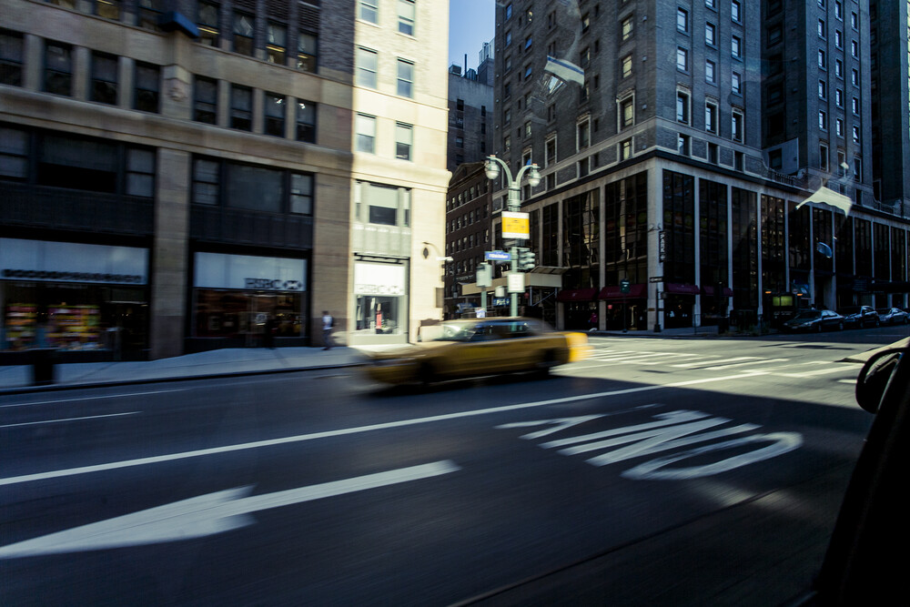 Taxi - Fineart photography by Jörg Carstensen