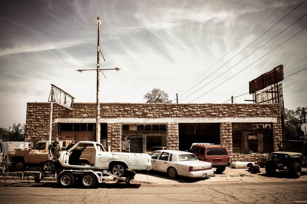 garage. - fotokunst von Florian Paulus