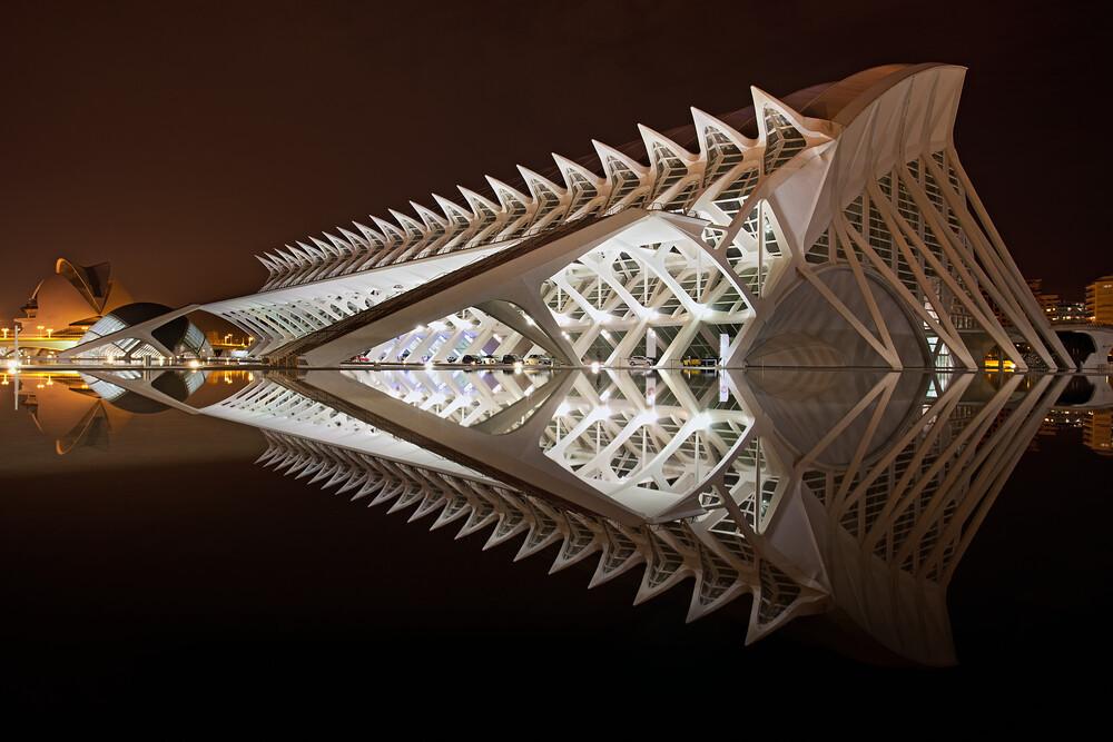 Ciudad de las Artes y de las Ciencias - fotokunst von Oliver Buchmann