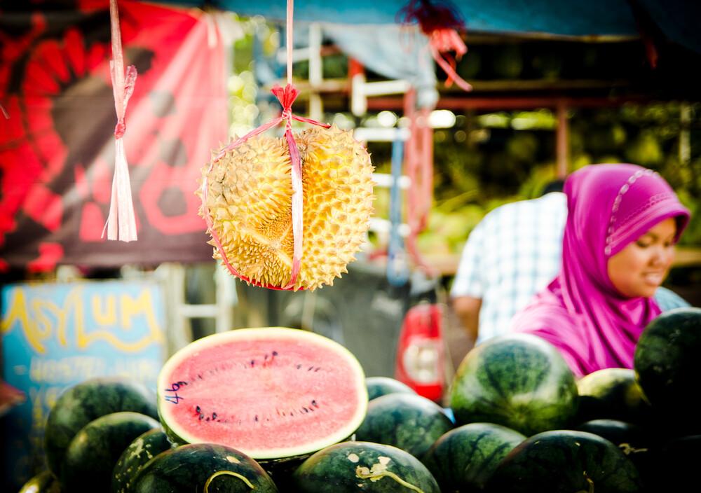 Jackfruit and Watermelon - Fineart photography by Gabriele Brummer
