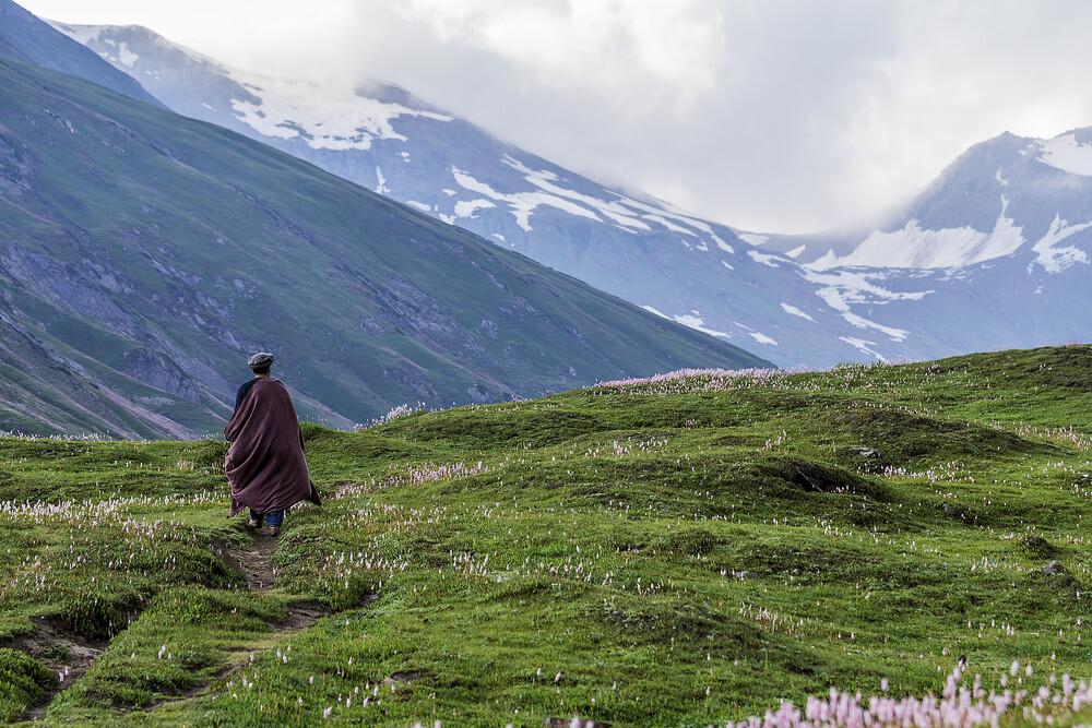 Der Reisende - fotokunst von Sher Ali