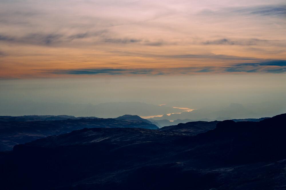 View from Ras Dashan - fotokunst von Tahir Karmali