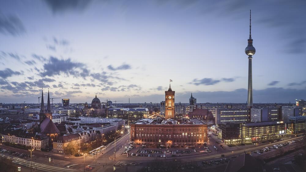 Historische Mitte Berlin Panorama - fotokunst von Ronny Behnert