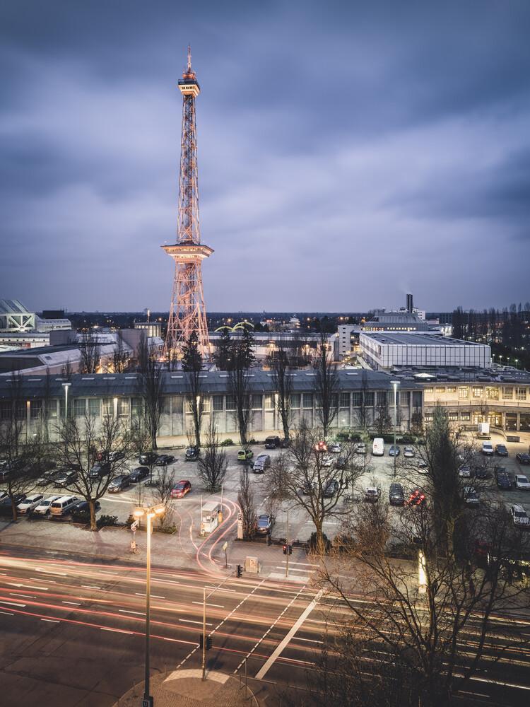 Messegelände Funkturm Berlin - Fineart photography by Ronny Behnert