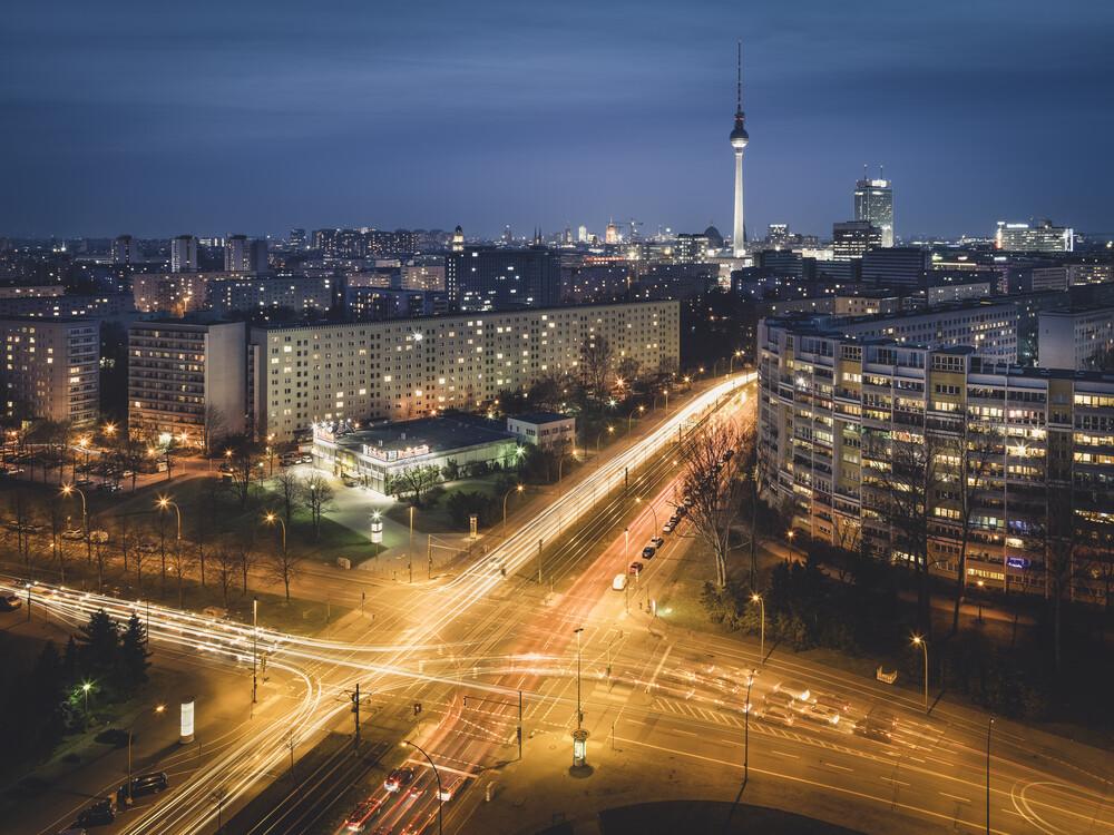 Platz der Vereinten Nationen Berlin - fotokunst von Ronny Behnert