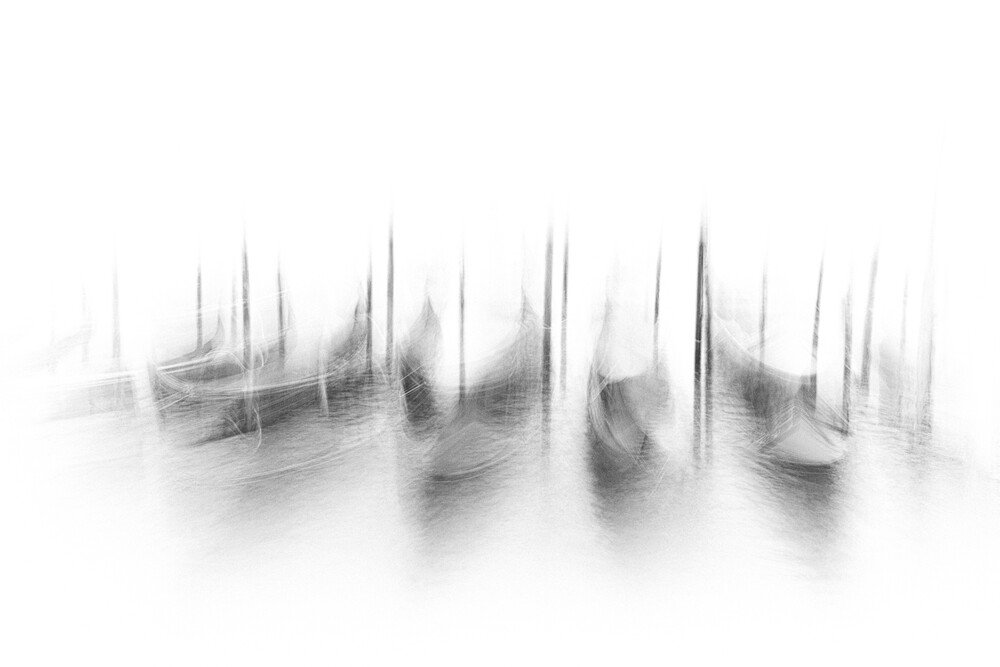 Dance of the gondolas - Fineart photography by Corry Delaan