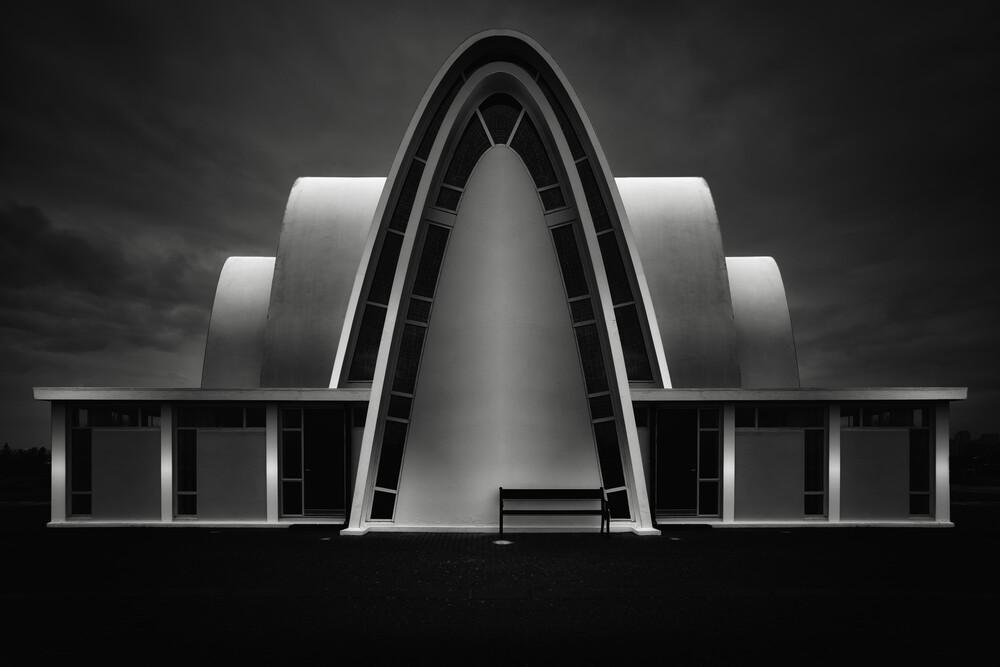 Kópavogskirkja - fotokunst von Oliver Buchmann