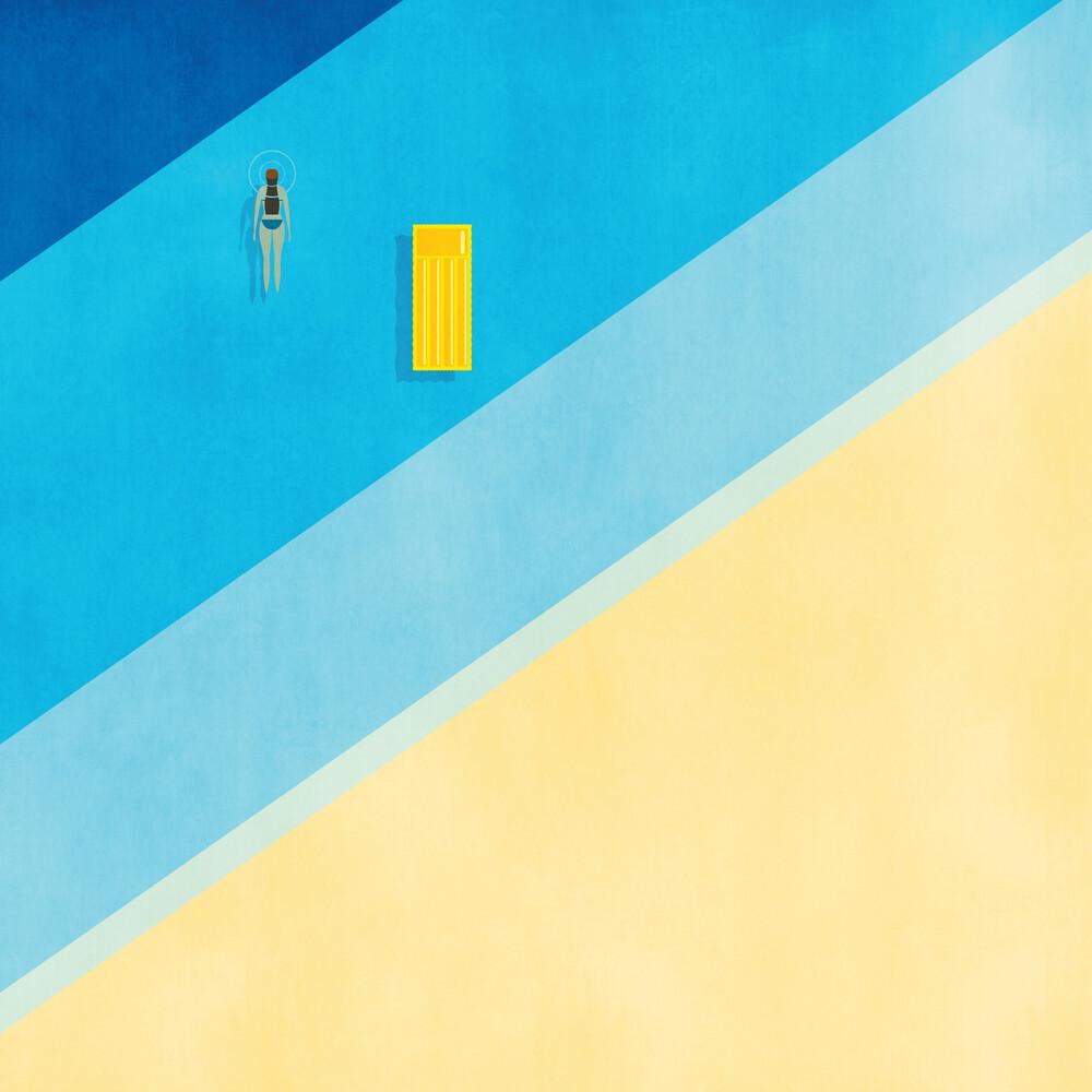 Alone - fotokunst von Samer Khodeir