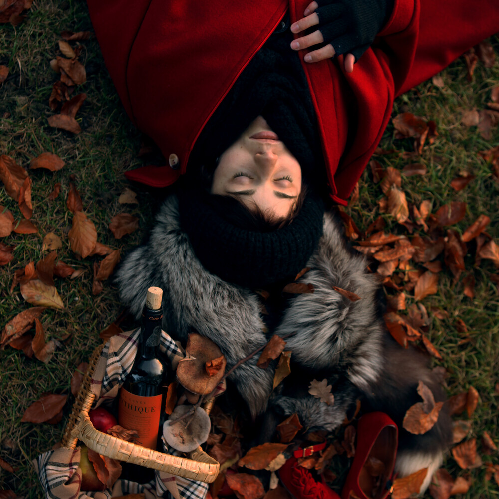 Hello Red Riding Hood - (5/6) - Fineart photography by Madelaine Grambow