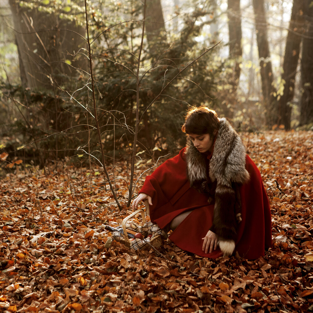 Hello Red Riding Hood - (1/6) - Fineart photography by Madelaine Grambow