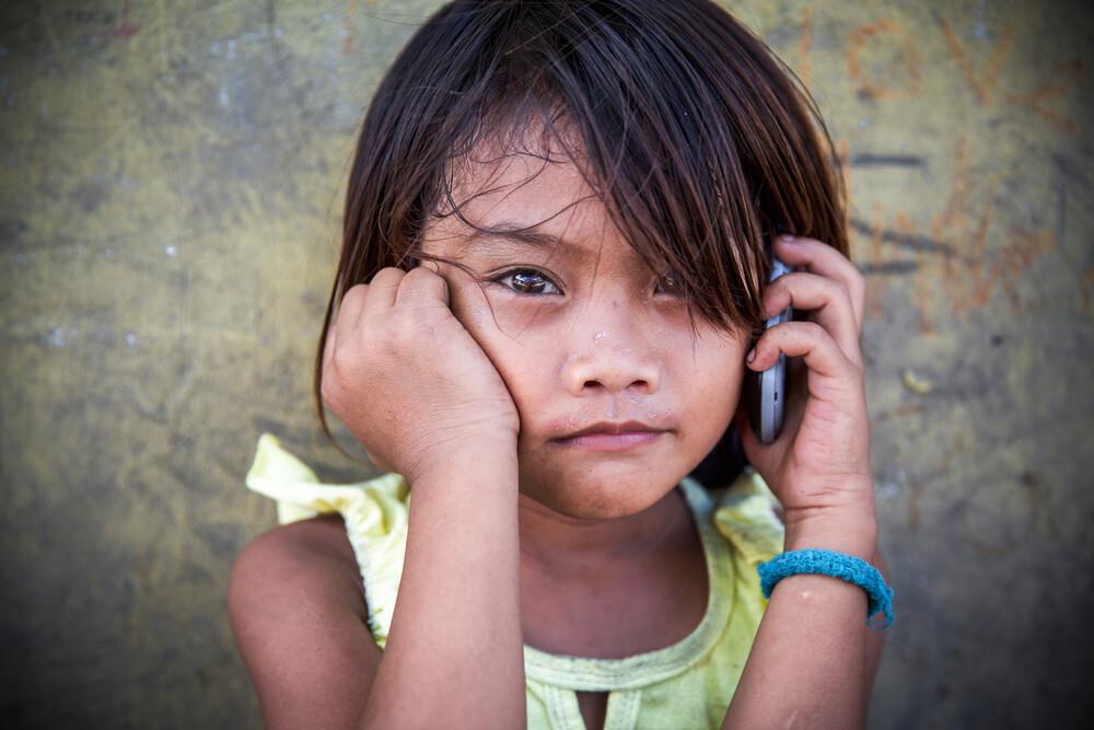 Little Girl - fotokunst von Miro May