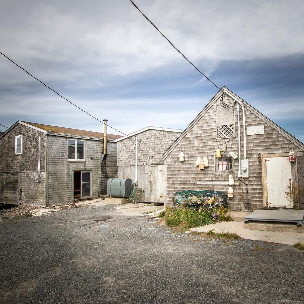Canadian Fisherman House - Fineart photography by Marie Joelle Nimmesgern