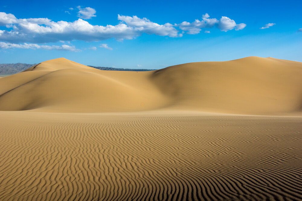 Gobi Patterns - Fineart photography by Philipp Weindich