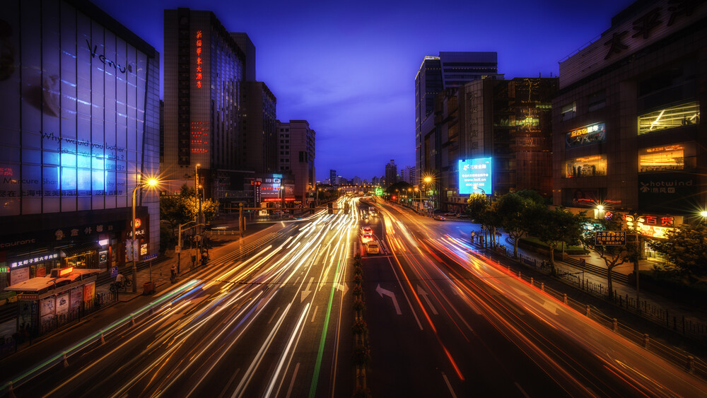 Urban Red - Fineart photography by Rob Smith