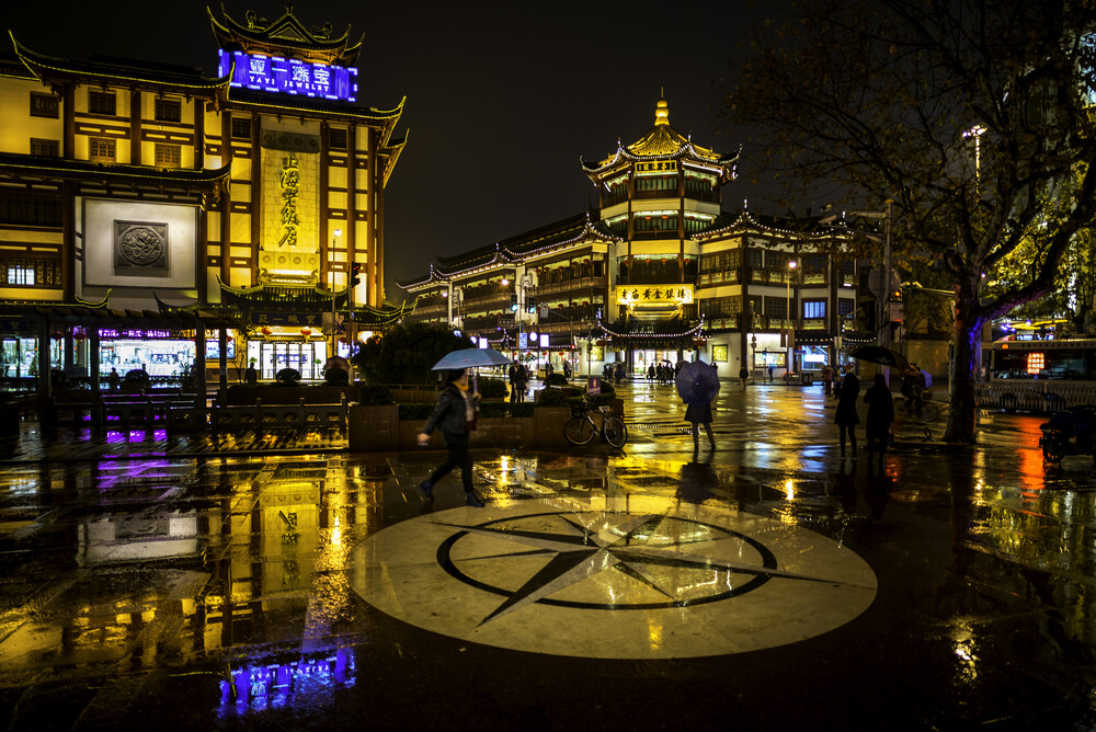 Yuyuan in the Rain - Fineart photography by Rob Smith
